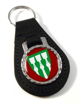 Hedmark (Norway) Leather Key Fob