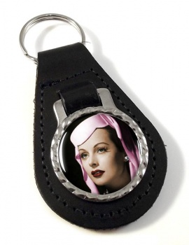 Hedy Lemar Leather Key Fob