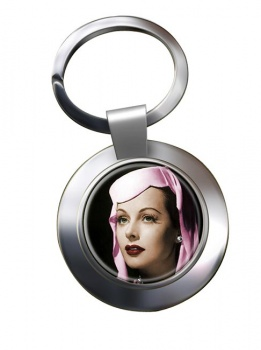 Hedy Lemar Chrome Key Ring