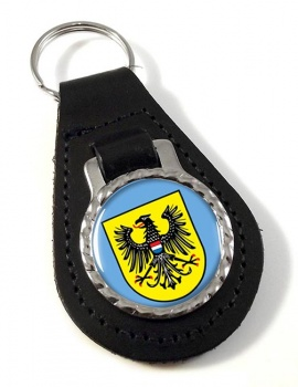 Heilbronn (Germany) Leather Key Fob