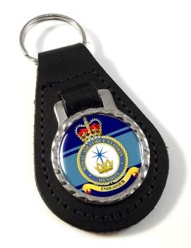 RAF Station Hendon Leather Key Fob