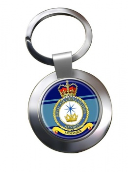 RAF Station Hendon Chrome Key Ring