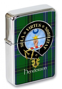 Henderson Scottish Clan Flip Top Lighter