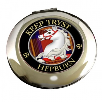 Hepburn Scottish Clan Chrome Mirror