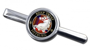 Hepburn Scottish Clan Round Tie Clip