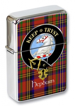 Hepburn Scottish Clan Flip Top Lighter