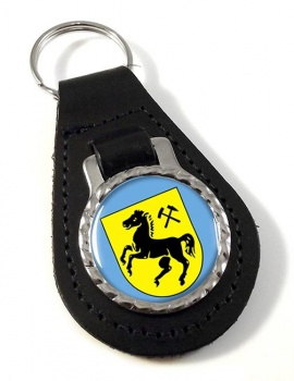 Herne (Germany) Leather Key Fob