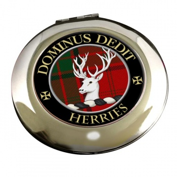 Herries Scottish Clan Chrome Mirror