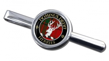 Herries Scottish Clan Round Tie Clip