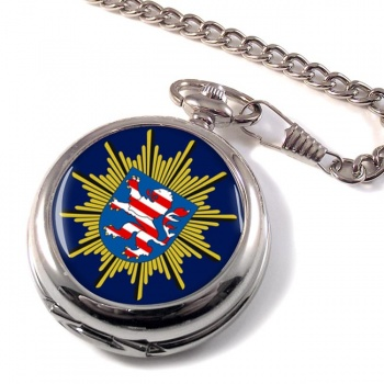 Hessische Polizei Pocket Watch
