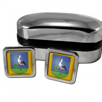 Heves Square Cufflinks