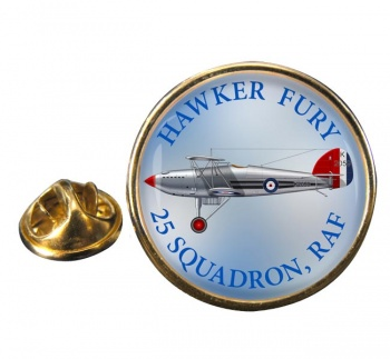 Hawker Fury Round Lapel