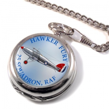 Hawker Fury Pocket Watch