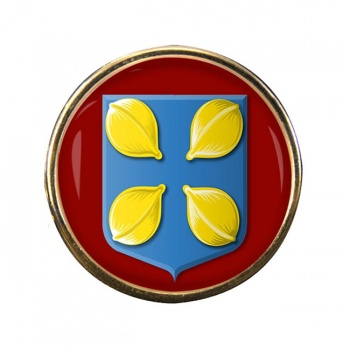 Hilversum (Netherlands) Round Pin Badge