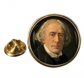 Henry Irving Round Pin Badge