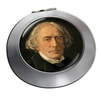 Henry Irving Chrome Mirror