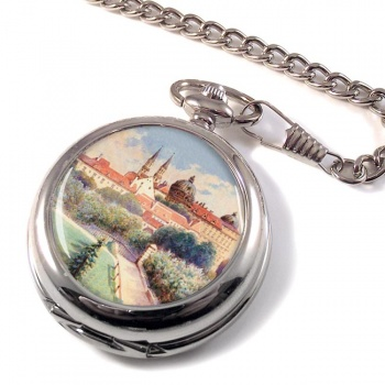 A Painting by Adolf Hitler Pocket Watch
