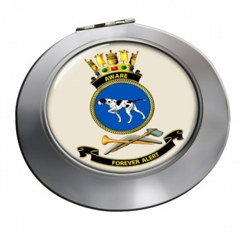 HMAS Aware Chrome Mirror