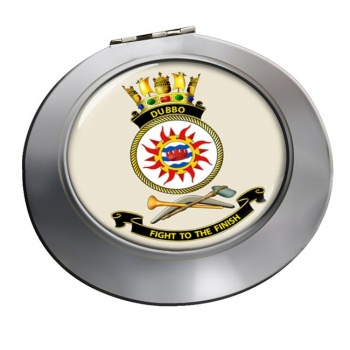 HMAS Dubbo Chrome Mirror