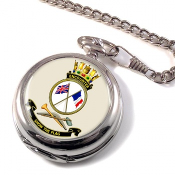 HMAS Encounter Pocket Watch