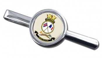 HMAS Encounter Round Tie Clip