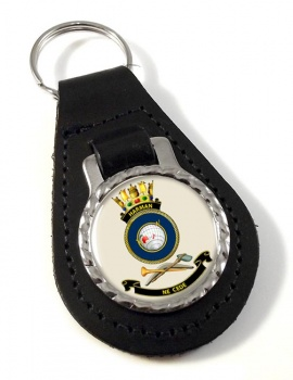HMAS Harman Leather Key Fob