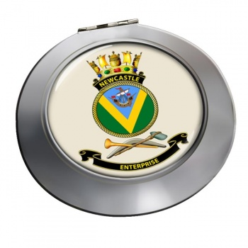 HMAS Newcastle Chrome Mirror
