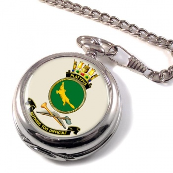 HMAS Platypus Pocket Watch