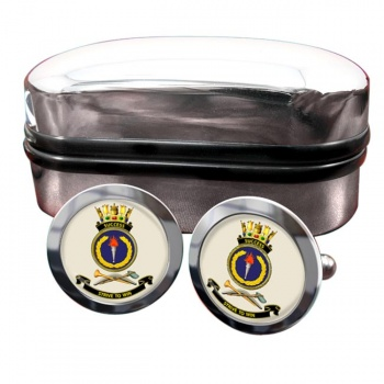 HMAS Success Round Cufflinks