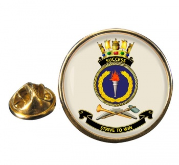 HMAS Success Round Pin Badge