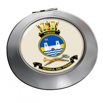 HMAS Tobruk Chrome Mirror