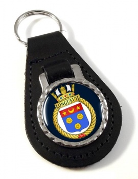 HMCS LONGUEUIL Leather Key Fob