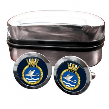 HM Fast Patrol Boats (Royal Navy) Round Cufflinks