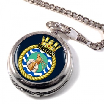 HMS Actaeon (Royal Navy) Pocket Watch