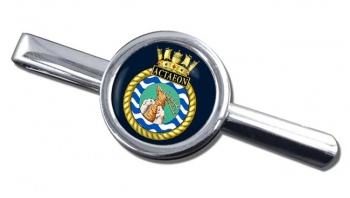 HMS Actaeon (Royal Navy) Round Tie Clip