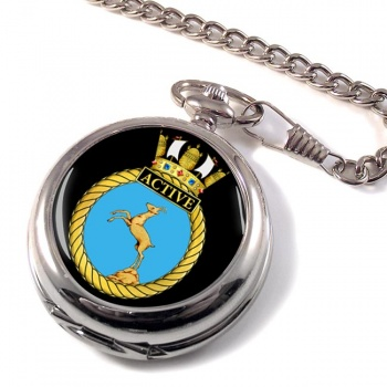 HMS Active (Royal Navy) Pocket Watch