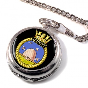 HMS Activity (Royal Navy) Pocket Watch