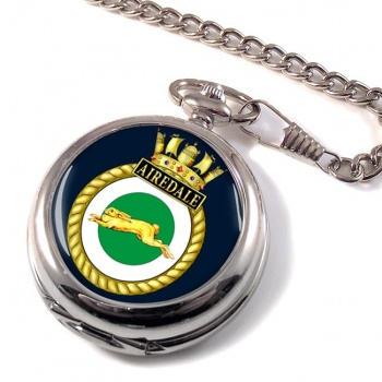HMS Airedale (Royal Navy) Pocket Watch