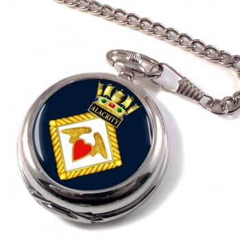 HMS Alacrity (Royal Navy) Pocket Watch