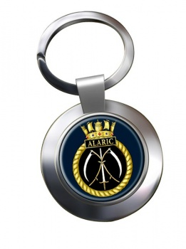 HMS Alaric (Royal Navy) Chrome Key Ring