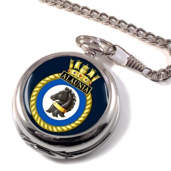 HMS Alaunia (Royal Navy) Pocket Watch