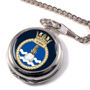 HMS Albion (Royal Navy) Pocket Watch