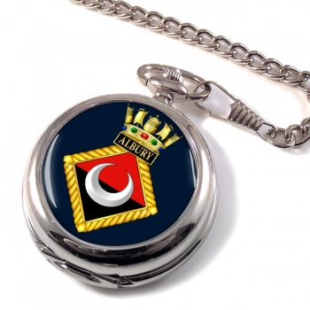 HMS Albury (Royal Navy) Pocket Watch