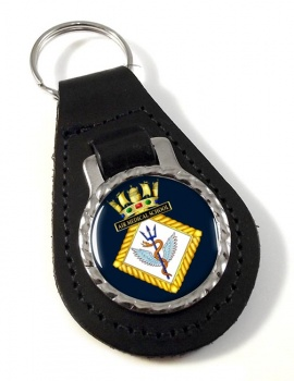 Air Medical School Royal Navy Leather Key Fob
