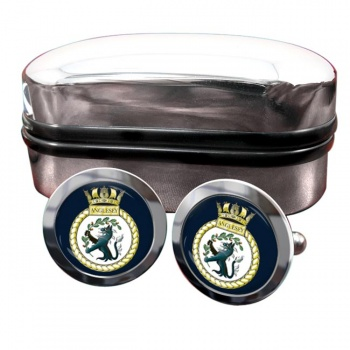 HMS Anglesey (Royal Navy) Round Cufflinks