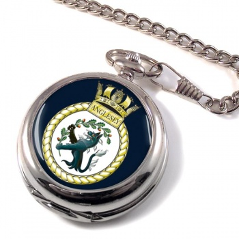 HMS Anglesey (Royal Navy) Pocket Watch