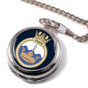 HMS Anson (Royal Navy) Pocket Watch