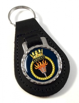 HMS Ardent (Royal Navy) Leather Key Fob