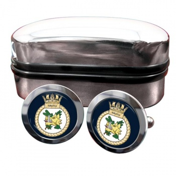 HMS Argyll (Royal Navy) Round Cufflinks