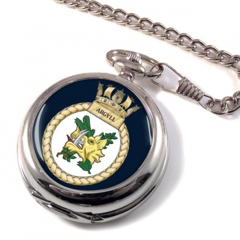 HMS Argyll (Royal Navy) Pocket Watch